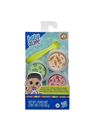 Hasbro Hasbro E9120 Baby Alive Super Snacks Yedek Mama Oyuncak Seti Renkli